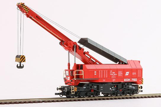 Eisenbahn-Drehkran EDK 750